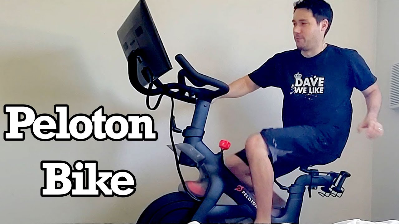 Peloton Bike Unboxing Setup Review Impressions Bicycle Exercise Fitness Cycling Cast Stream Class