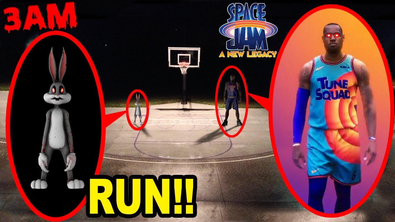 Download IF YOU SEE LEBRON JAMES.EXE & BUGS BUNNY.EXE FROM SPACE JAM 2 OUTSIDE OF YOUR HOUSE RUN AWAY FAST!!