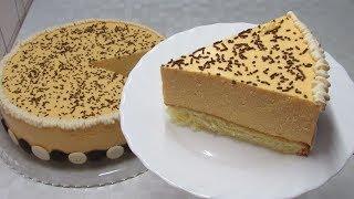 """Очень необычный ТОРТ из обычных продуктов - Торт """"Тыковка""""!!! Pumpkin Cake"""