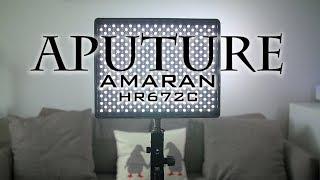 APUTURE Amaran HR672C REVIEW | BEST LED LIGHT PANEL for film making
