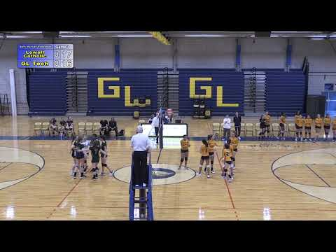 Greater Lowell Tech Volleyball vs. Lowell Catholic 10-3-19