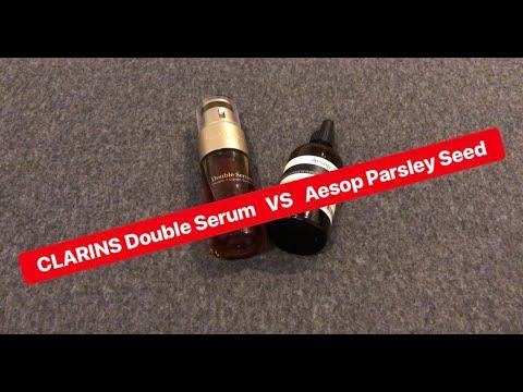 MARTINPHU : รีวิว CLARINS Double Serum VS Aesop Parsley Seed (195)