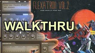 Flexatron Vol.2 XP ElectraX Presets Bank + Drum Kit Walkthru