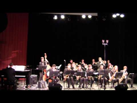 Nassau Sufflok Jazz Ensemble  Dancing on the ceiling  1 31 15  CW Post Tilles Center