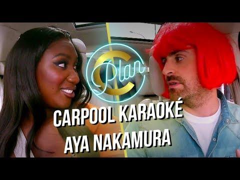 Youtube: Carpool Karaoké – Camille Combal & Aya Nakamura en intégralité! Plan C Vendredi à 23h30 sur TF1!