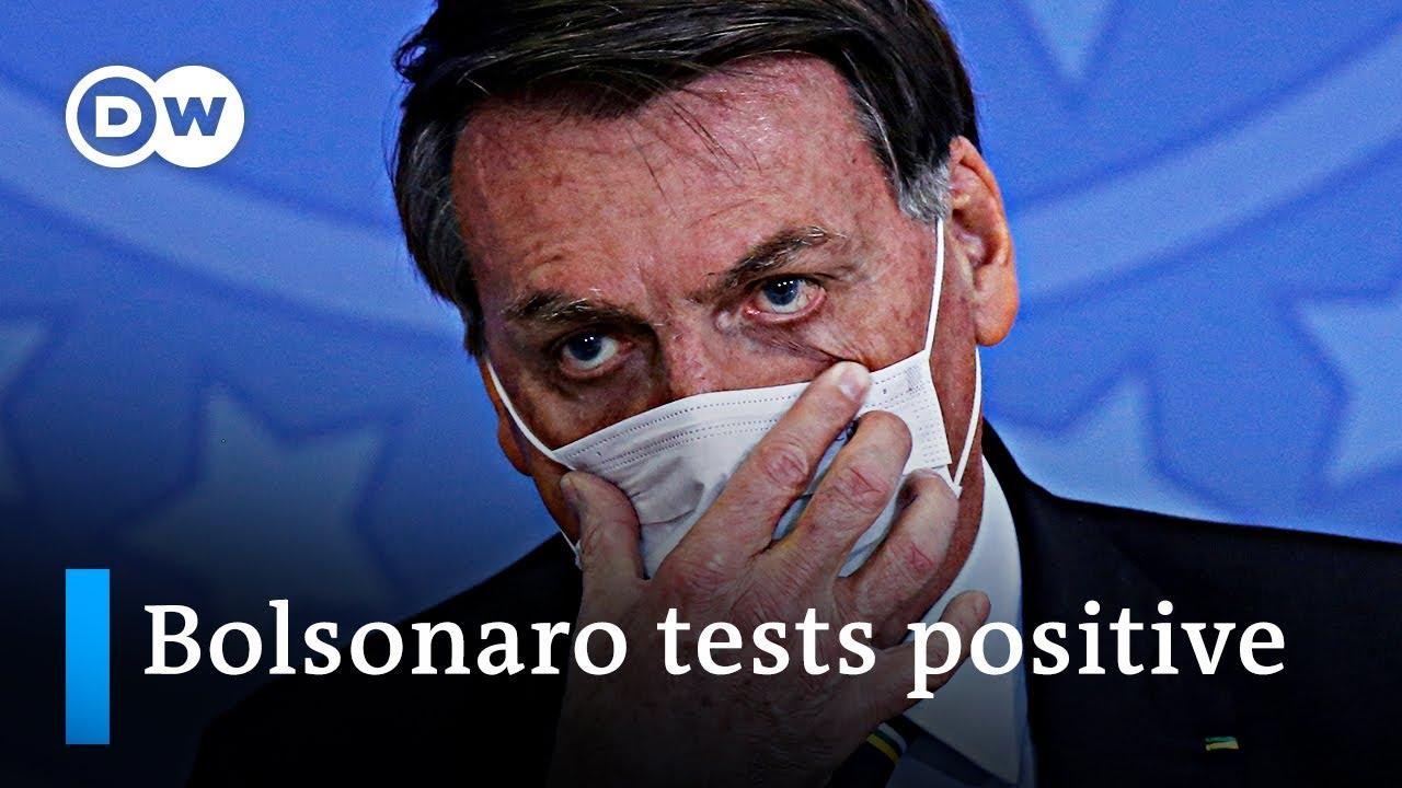 Brazil's Jair Bolsonaro Tests Positive for Coronavirus