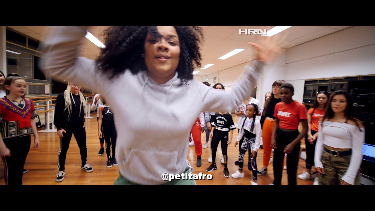 Petit Afro Presents: Afro Dance - Song: Quero Danza || PROD. Moris beat|| Video By HRN