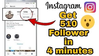Instagram Followers Kaise Badhaye (2019 | How To Increase Instagram Followers | Technical Booster