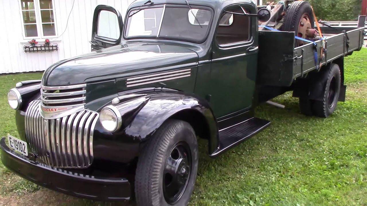 Chevrolet 1946 Truck Youtube