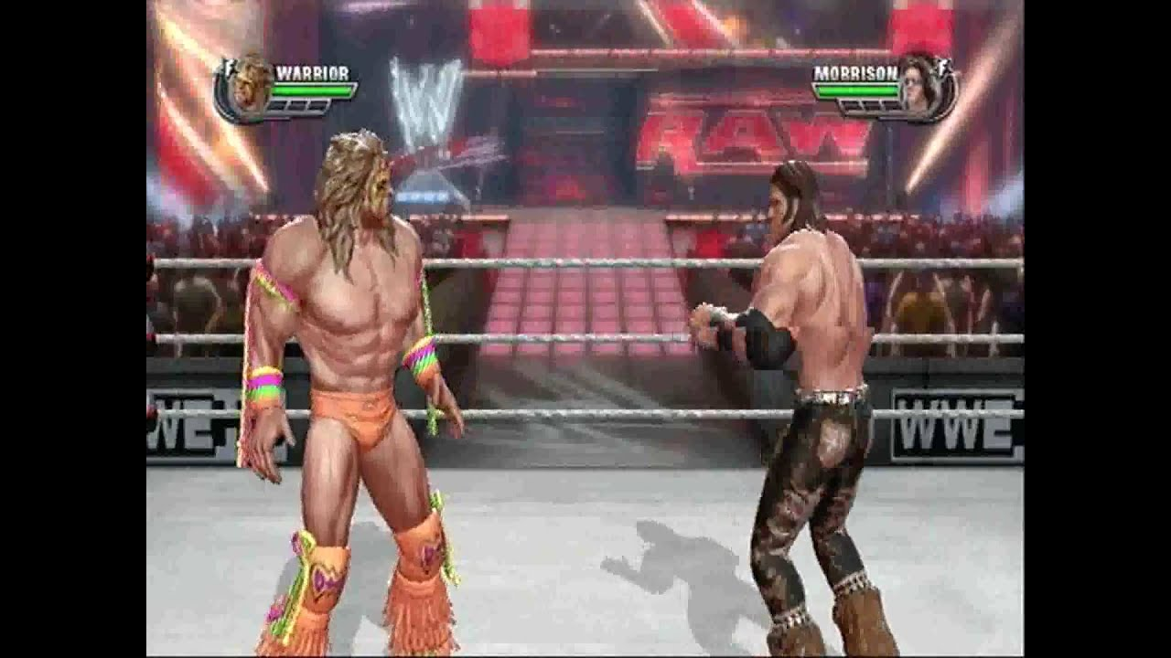 4d5173b7f9be WWE All Stars Gameplay (Playstation 3 - PS3) The Ultimate Warrior vs. John  Morrison