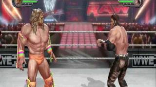 WWE All Stars Gameplay (Playstation 3 - PS3) The Ultimate Warrior vs. John Morrison