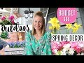 CHEAP PORCH DECORATING IDEAS! 💐 Dollar Tree Window Boxes, DIY Farmhouse Crate Box & More!