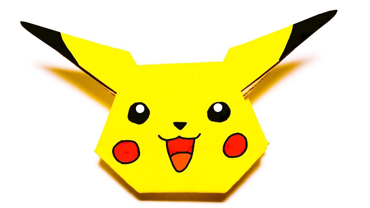 Pokemon Pikachu Easy Origami Tutorial