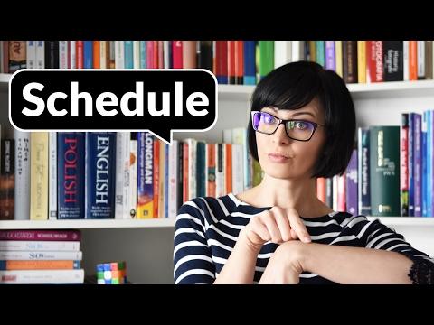 Schedule – jak to się czyta? | Po Cudzemu #77