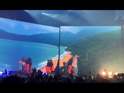Bad Bunny - La Romana Live in Santiago Chile 2019 4K