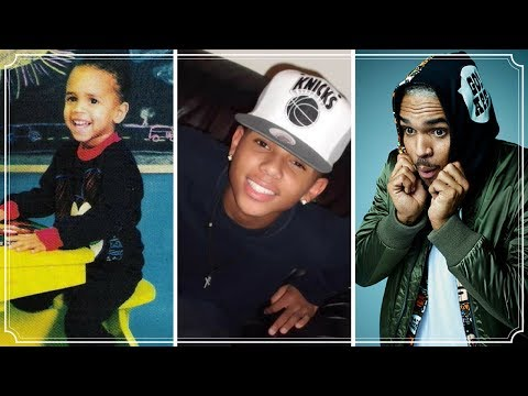 Chris Brown 1989 - 2017 | Chris Brown Changing Looks From 1 To 28 Years Old