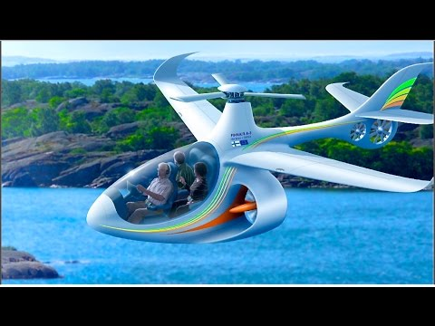 VISIONS OF THE FUTURE AIR TRAVEL part 4:6  An aircraft for everyone  (HD1080p)