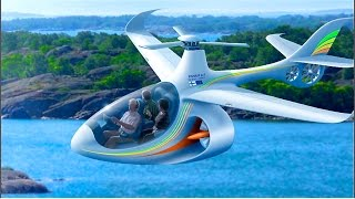 (Full HD)   VISIONS OF THE FUTURE AIR TRAVEL part 4:6  An aircraft for everyone