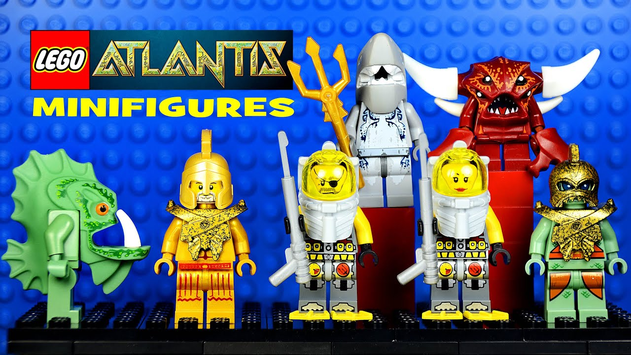 LEGO® Atlantis Guardians of the Deep Official Minifigure Collection Set 2 - YouTube