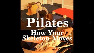 How your Skeleton Moves when you practice Pilates.