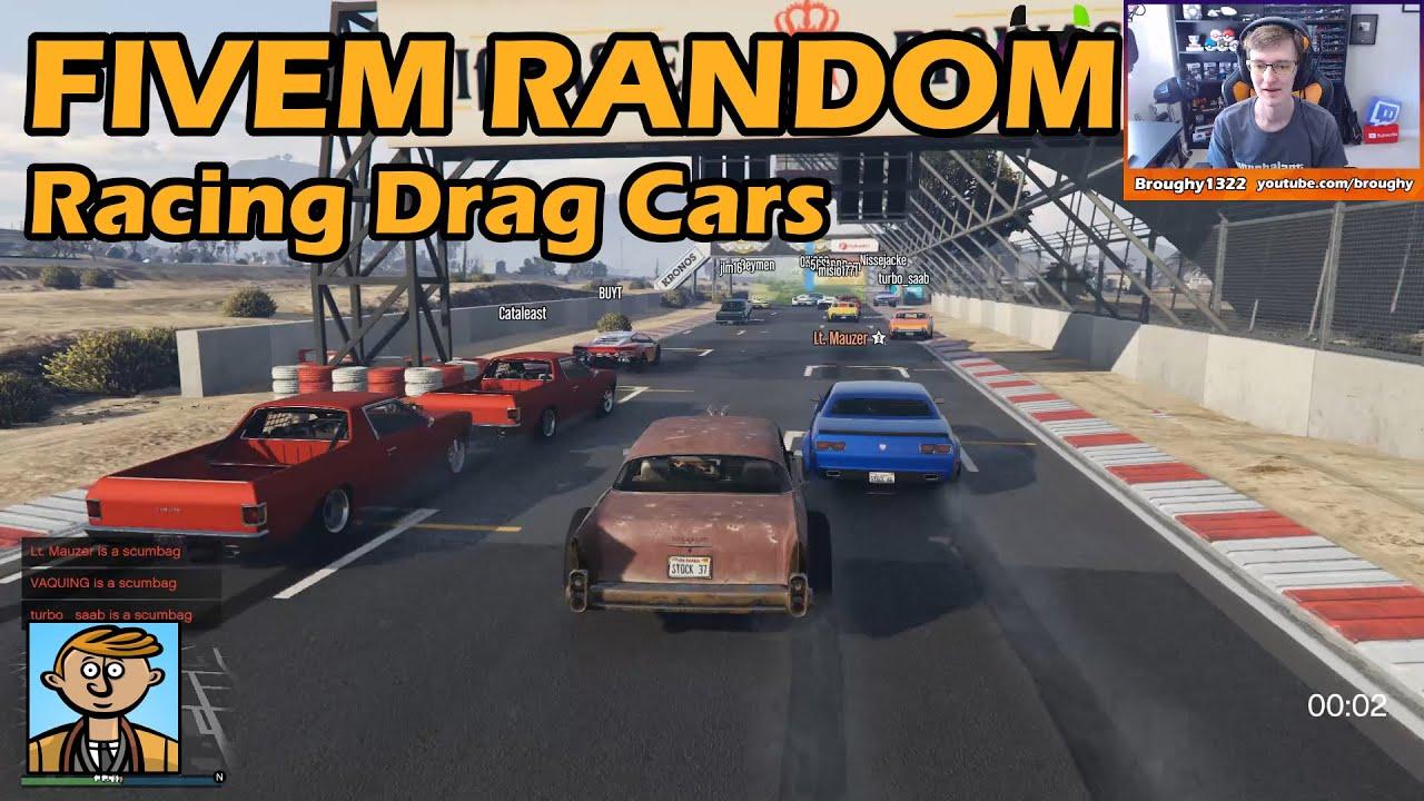 Racing Drag Cars - GTA FiveM Unique Racing Live #10
