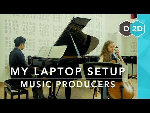 My Laptop Setup #4 - Music Producers!