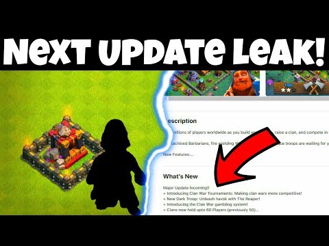 NEW DARK TROOP! UPDATE LEAK 2018? CLASH OF CLANS (HINDI)SAM1735