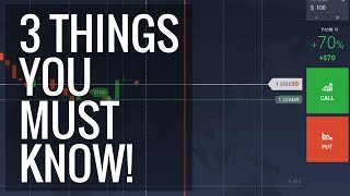 A noob guide to how binary options work - 3 things you must know