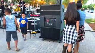 RCF TTL6A deployment for Concert in the park - AUTHORIZED DEALER AND