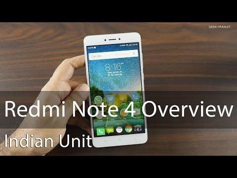 Xiaomi Redmi Note 4 Overview & Impressions (Indian Unit)