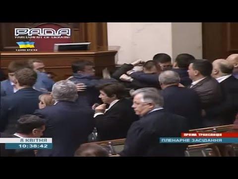 Ukraine War - Communist party statement caused fist fight in Verkhovna Rada in Ukraine