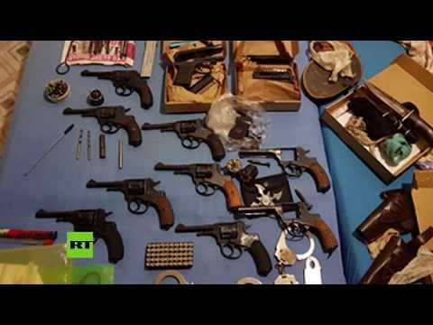 Desarticulan Una Red De Fabricación De Armas En Rusia