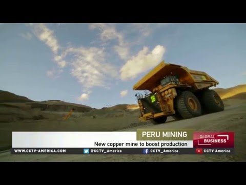 Peru Set To Become The World's Second Biggest Producer Of Copper