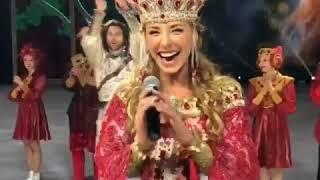 Пугачева с Галкиным и детьми побывали на шоу Навки Руслан и Людмила