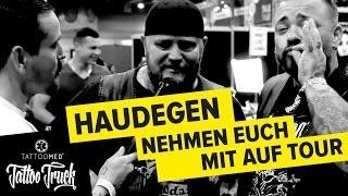 Interview mit: HAUDEGEN @ Tattoo Convention Dortmund TATTOO TRUCK | TattooMed