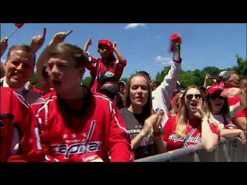 Highlights from the Caps Stanley Cup Victory Parade