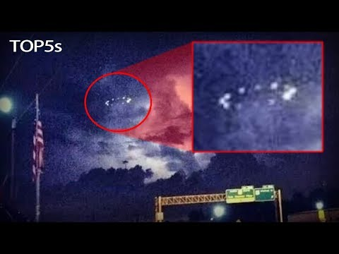 5 Mysterious REAL Unidentified Flying Objects Caught on Camera...