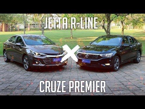 Comparativo: Cruze Premier 2020 X Jetta R-Line
