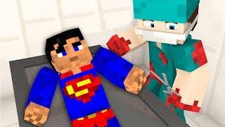 SÜPERMAN'İ AMELİYAT EDİYORUM! (Minecraft)
