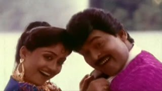 Rudranetra Movie || Ek Dho Teen Video Song || Chiranjeevi, Radha, Vijayashanti