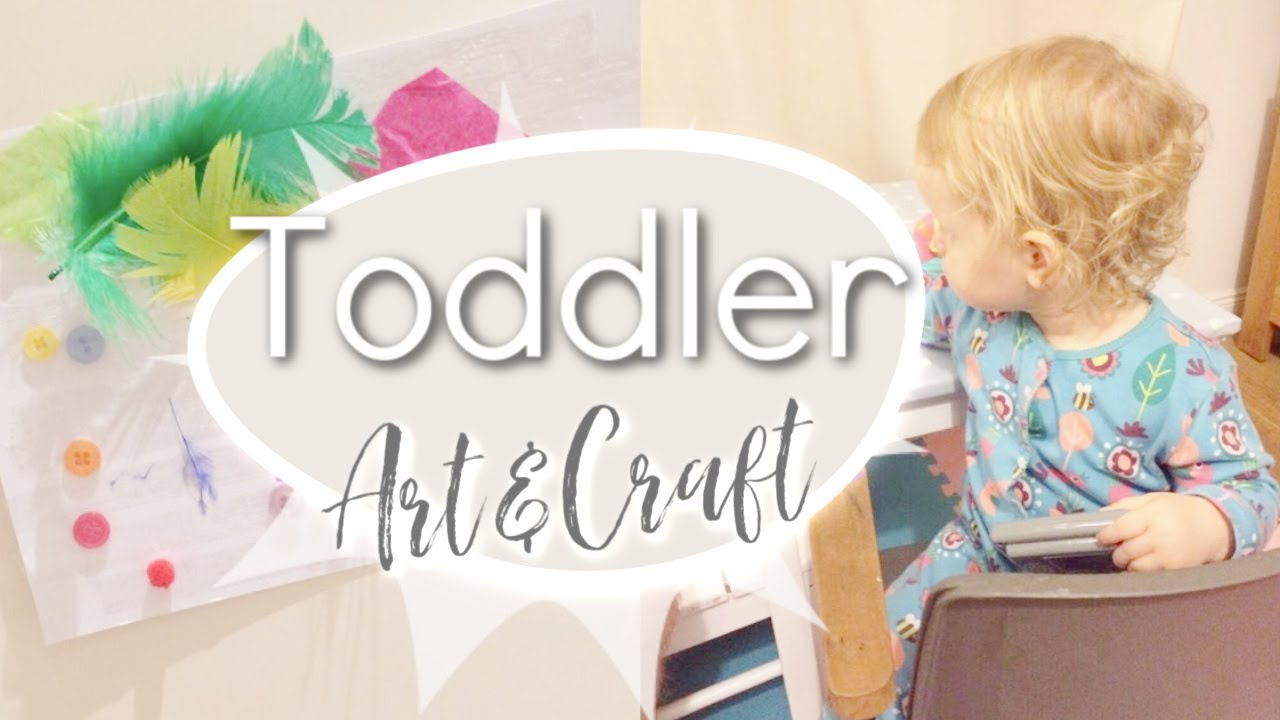 No Mess Art Craft Toddler Activities Youtube