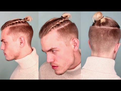 viking-braided-top-knot/man-bun-|-step-by-step