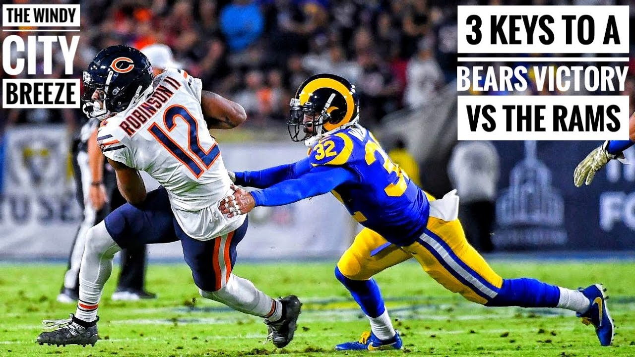 Bears vs. Rams: Three Keys to a Chicago Victory