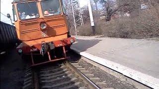 Железнодорожники развлекаются!...