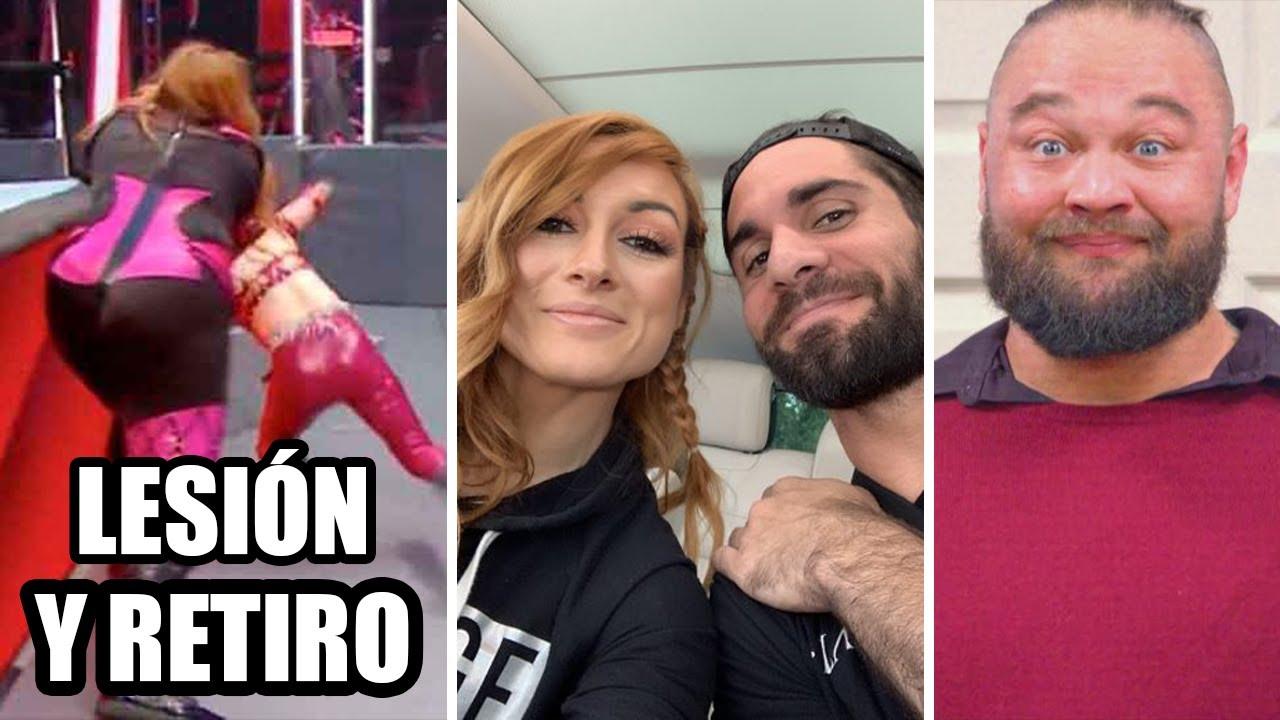Kairi Sane PODRÍA RETIRARSE, Rollins HABLA del Futuro de Becky Lynch, Qué pasa con Bray Wyatt?