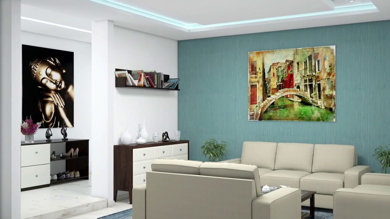 Complete House Interior Design Part - 20: 4bhk Complete House Interior