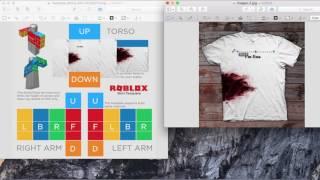 [ÉTAPE PAR ÉTAPE] Comment faire une chemise sur Roblox (Mac)