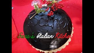 Sacher Torte Chocolate Cake with Apricot Filling and Chocolate Glaze