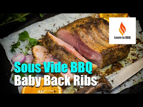 Sous Vide BBQ Baby Back Ribs - Keto - LCHF - Learn to BBQ