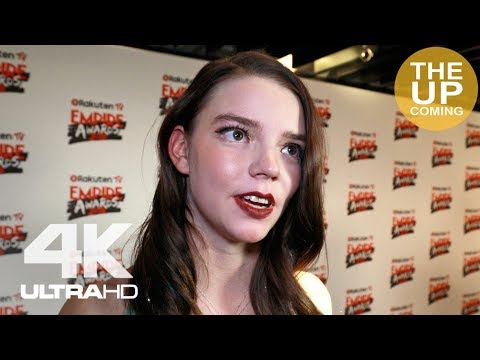 Anya Taylor-Joy interview on Glass, M Night's dancing and Time's Up movement at Empire Awards